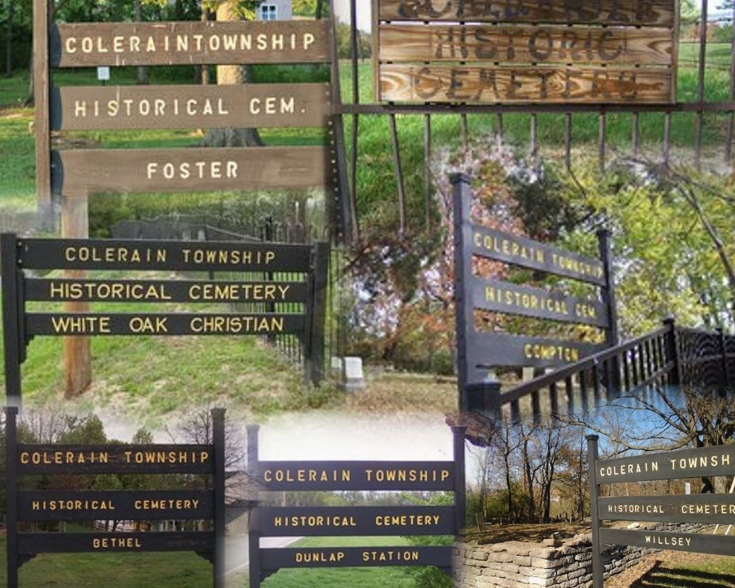 Historic Cemetery Collage
