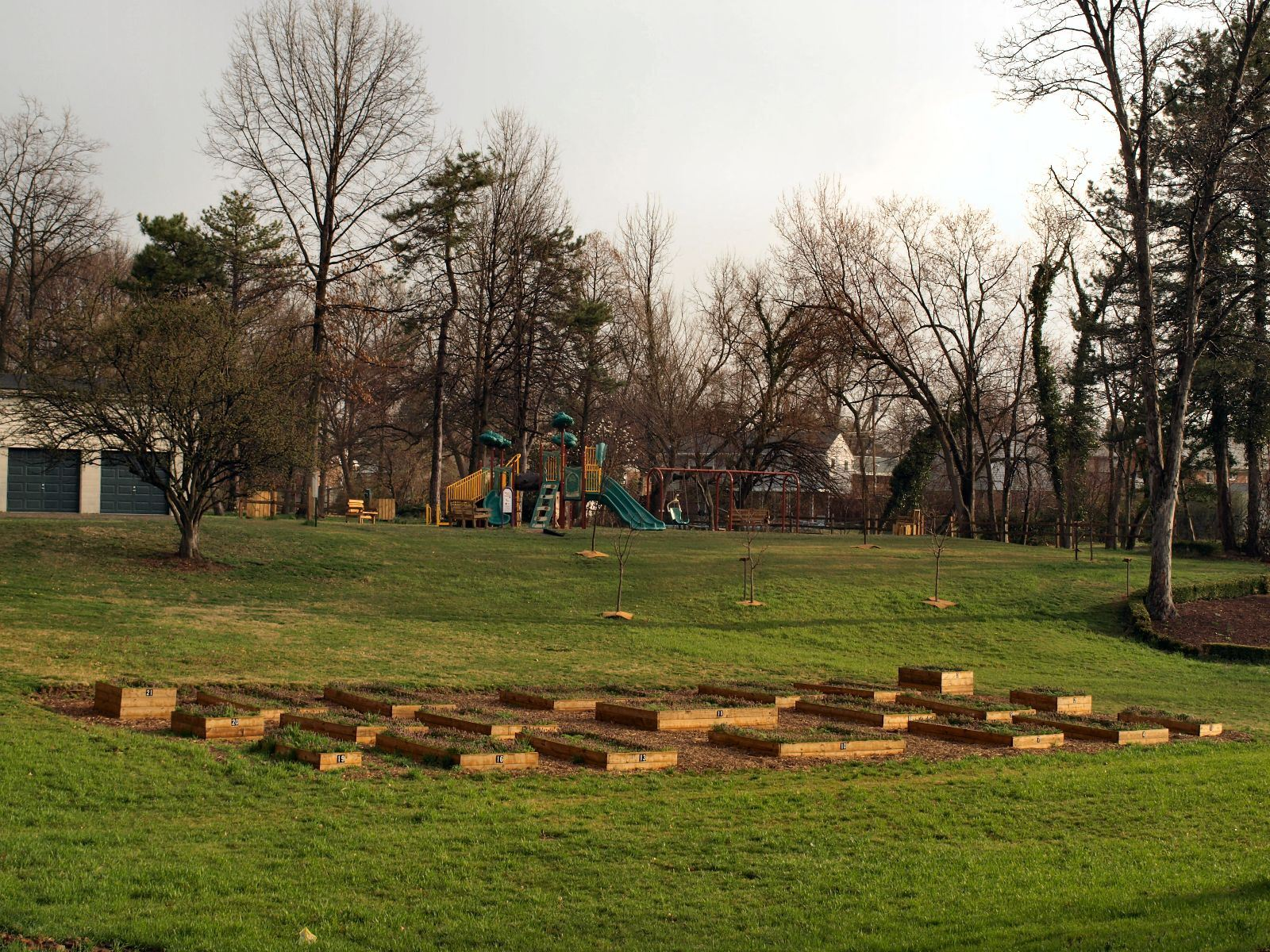 Community Garden at Wert Park